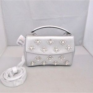 Michael Kors Ava Jewel Small Top Handle Satchel